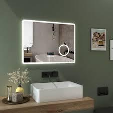 bath houston badspiegel led beleuchtung wandspiegel spiegel