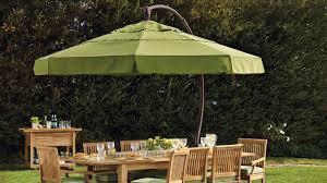 Large Cantilever Patio Umbrella by Galtech Sungarden Patio Umbrella Md Baltimore Backyard Billy U0027s