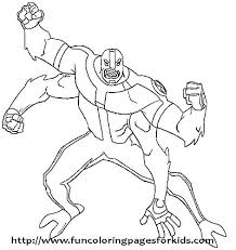 Ben 10 Colouring Pages Games Online Coloring Submited Images