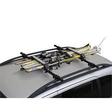 porte skis sur barres de toit menabo white 8597172 pour 4