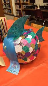 Bruce The Shark Pumpkin Stencil by Pumpkin Painting Book Report The Rainbow Fish Pumpkin Painting