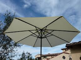 Patio Umbrella Replacement Canopy 8 Ribs by Amazon Com Replacement Umbrella Canopy For 9ft 8 Ribs Off White