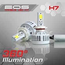 optix 80w 8000lm led headlight conversion kit h7 low