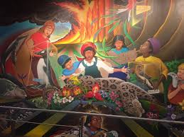 Denver International Airport Murals Painted Over by Joy Stimson Joystimson Twitter