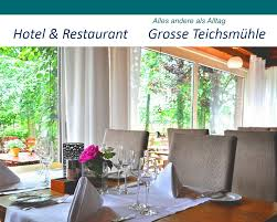 hotel und restaurant grosse teichsmühle muensterland de