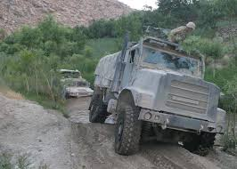 100 7 Ton Military Truck Oshkosh MTVR In Afghanistan US Marines
