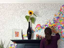 Awe Inspiring Easy Wall Decor Together With 27 DIY Ways To Make Your Walls Look Uniquely Amazing 3 Decoration Ideas At Home Projects