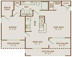 One Bedroom Apartments Denton Tx by Luxury Apartment Floor Plans 3 Bedroom Interior Design