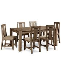 canyon 7 piece dining set created for macy s 72 dining table