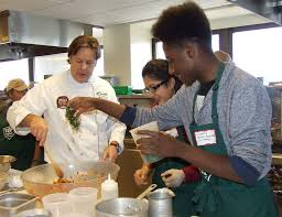 Chef Decor At Target by Young Twin Cities Gardeners Team Up With Chefs To Create Home Team