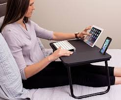 Sofia And Sam Lap Desk by Sofia Sam Lap Tray With Tablet U0026 Phone Slots Metal Folding