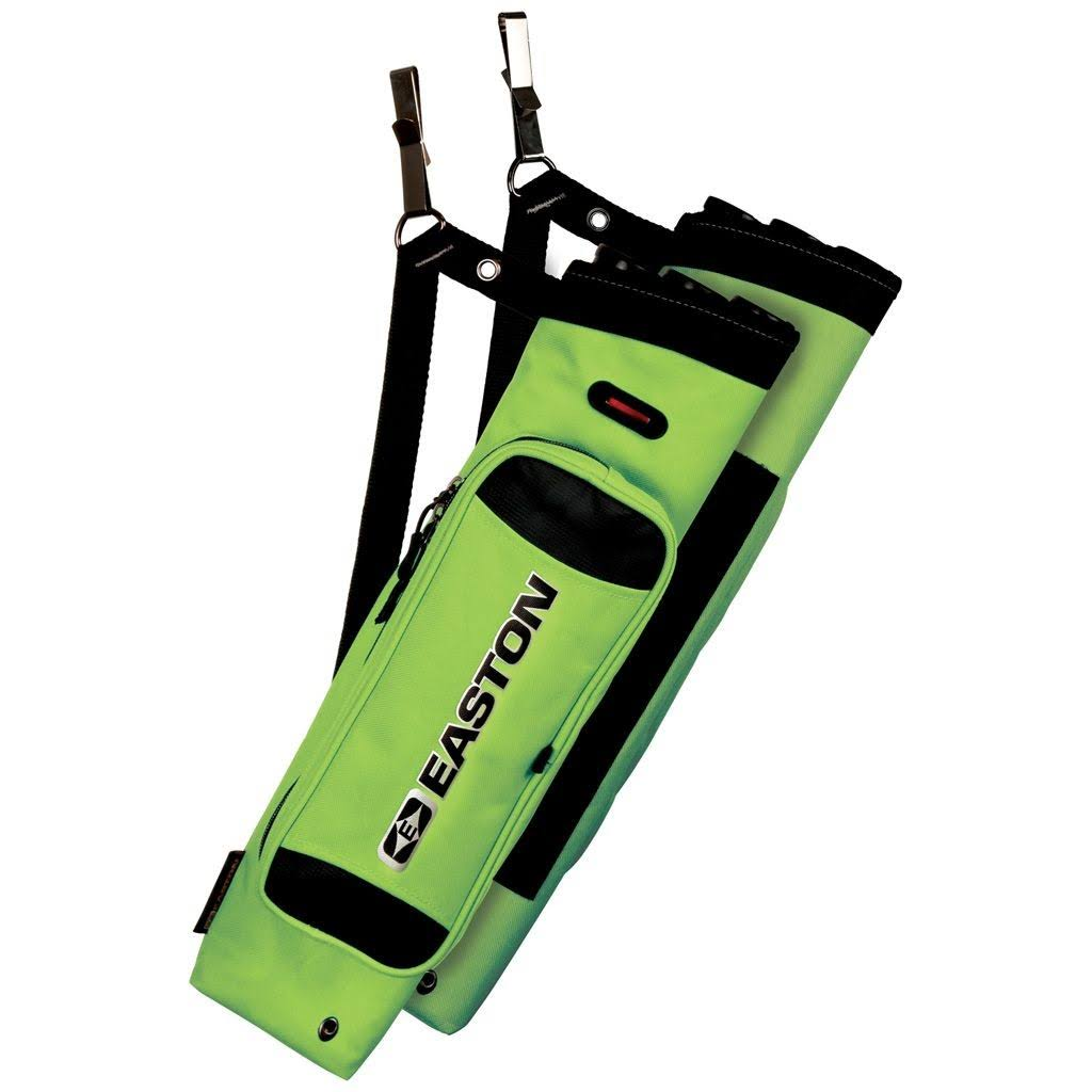 Easton Flipside Quiver - Neon Green, 3 Tube
