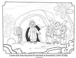 Easter Story Coloring Pages Best