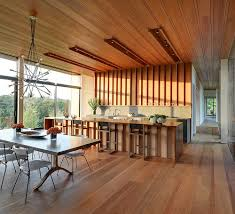 100 Wooden Ceiling Kitchens With Adding Warmth And Elegance In