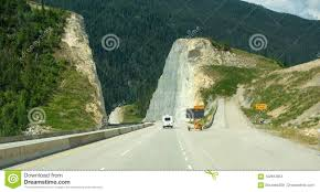 100 Runaway Truck Ramp Video A In The Rocky Mountains Stock Image Image Of