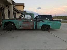 100 67 Dodge Truck 19 D100 Interceptor NASCAR Rat Truck