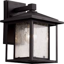 trans globe 40360 square seeded exterior wall light fixture tra