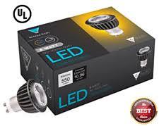 triangle bulbs 6 pack led gu10 8 watt dimmable 50w equivalent 60