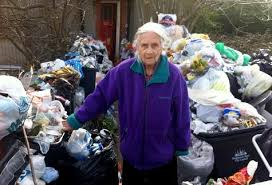 Olive Taylor s garden is our shame not hers
