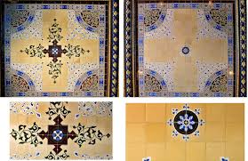 The Two Types Of Tile Panels And Detailed Views Center Elements Photos Courtesy Michael Padwee