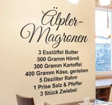 wandtattoo deutsche sprüche für ihr zuhause für küche