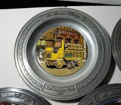American Heritage Mack Truck Commemorative Pewter Plates Limited ...