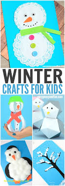Simple Winter Crafts For Kids Best Of Craft Ideas January Preschoolers Beautiful