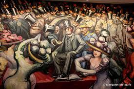 murals castillo de chapultepec