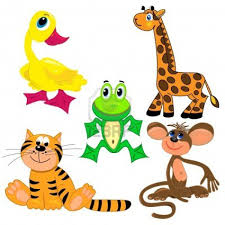 Zoo Animals Clipart CardsClipart Zoo Animals Animals Clip Art