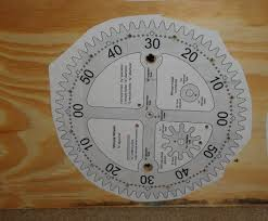 Free Wood Clock Plans by Wooden Gear Clock 8 Steps With Pictures