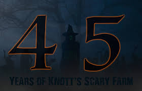 Knotts Berry Farm Halloween Hours by 45 Years Of Knott U0027s Scary Farm Presentation Announced For