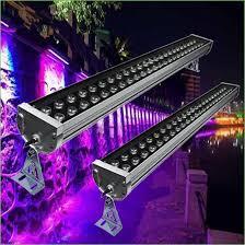 lighting purple led flood lights outdoor led wall washer l