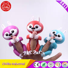Fingerlings Monkey Unicorn Sloth Squirrel Toy