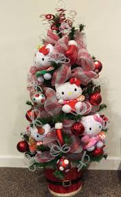 Disney Tinkerbell Star Christmas Tree Topper by 26 Best Cute Christmas Tree Images On Pinterest Hello Kitty