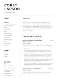 Production Manager Resume & Writing Guide | +12 Templates | 2020 Product Manager Resume Example And Guide For 20 Best Livecareer Bakery Production Sample Cv English Mplate Writing A Resume Raptorredminico Traffic And Lovely Food Inventory Control Manager Sample Of 12 Top 8 Production Samples 20 Biznesasistentcom