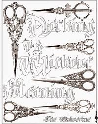 Scissors Coloring Pages 46