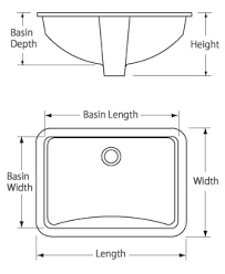 Drop In Bathroom Sink Sizes by Bathroom Sinks At Faucet Com