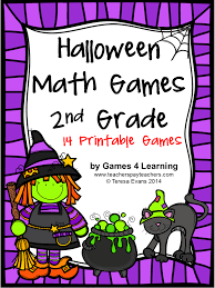Halloween Fun Riddles by Halloween Printable Math Games U2013 Festival Collections