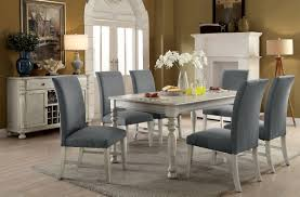 Siobhan II Transitional Style Antique White Finish 7pc Dining Table ... How To Create A Transitional Ding Room Fratantoni Liftyles Transitional Ding Room Set Inc Table With Leaf 4 Side Chairs 2 Intrigue Round Glass Top Table Chairs White 50 Awesome Vintage Living Fniture In Of America Giselle Rooms For 45 Ideas Photos Solid Wood And Set Intercon Balboa Park With Bench Sadlers Steve Silver Lawton Nine Piece Wayside