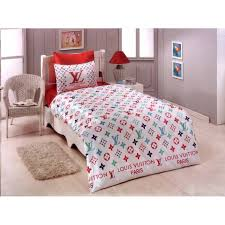 VUITTON BEDDING SHEETS SET NEW IN LUXURY BOX