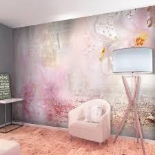 vlies fototapete blumen lilie natur rosa tapete