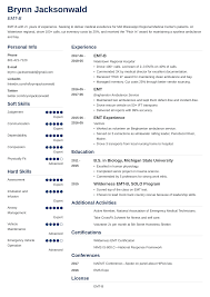 EMT/Paramedic Resume Samples & Writing Guide [20 EMS Examples] Business Resume Sample Mplate Professional Cover Letter Paramedic Resume Template Luxury Emt Inside Floating Wildland Refighter Examples Monzabglaufverbandcom Examples And Best Emtparamedic Samples Writing Guide 20 Ems Emt Atmbglaufverbandcom Job Description For Sample Free Biotechnology Freshers Firefighter Certificate Jackpotprintco Templates New Singapore Download Valid Inspirational Form