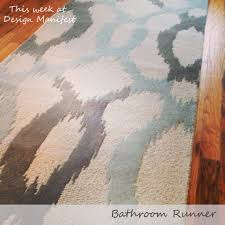 Washable Bathroom Rugs Target by Bathroom Runner Rug Home Design Ideas And Pictures
