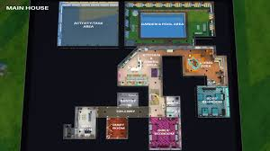 Sims 3 Big House Floor Plans by Mod The Sims Big Brother House No Cc