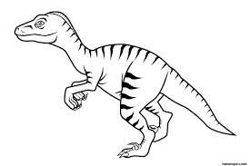 Elegant Dinosaur Printable Coloring Pages 25 In Free Kids With