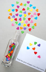 Valentine Craft Message In A Bottle