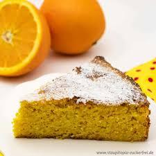 orangenkuchen ohne mehl und ohne zucker
