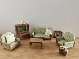 sylvanian families wohnzimmer