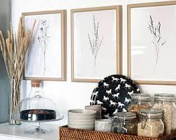 Botanic Wall Art Boho Decor Bedroom Modern Minimalist Print Beautiful