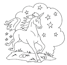 Unicorn Wings Coloring Pages Free Printable For Kids Of Unicorns